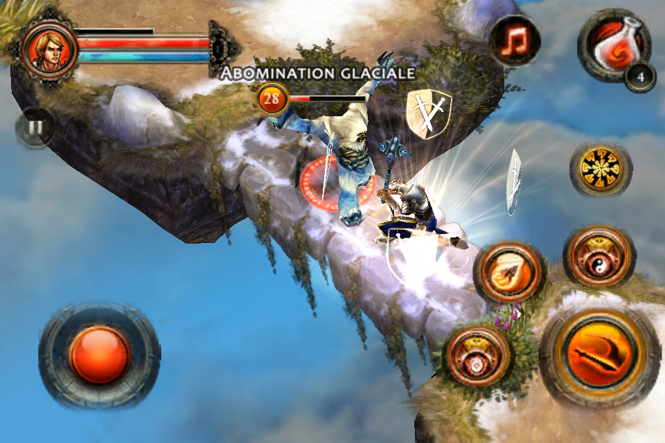 [JEU] DUNGEON HUNTER 2 : Le célèbre Diablo like de Gameloft [Payant] DH2_iPhone4_FR_screen_05